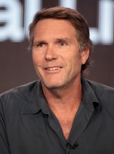 "PASADENA, CA - JANUARY 13:  Actor Robert Taylor of ""Longmire"" speaks at the A&E panel during the A&E Networks portion of the 2012 Television Critics Association Press Tour at The Langham Huntington Hotel and Spa on January 13, 2012 in Pasadena, California.  (Photo by Frederick M. Brown/Getty Images)"